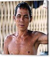 Cambodian Dignity Acrylic Print