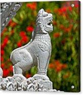 Cambodian Lion Acrylic Print