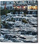 Camden Maine Waterfalls Acrylic Print