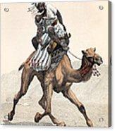 Camel & Rider Acrylic Print