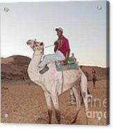 Camel Riders Acrylic Print