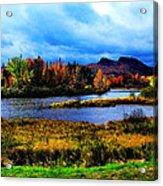 Camelback Mountain Maine Acrylic Print