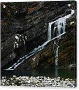 Cameron Falls Waterton Lakes National Park Acrylic Print