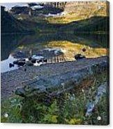 Cameron Lake, Alberta, Canada Acrylic Print