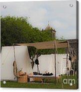 Camp At Goliad Acrylic Print