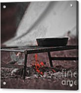Camp Fire  Acrylic Print
