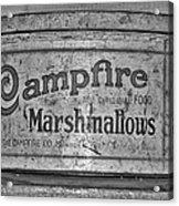 Campfire Marshmallows Acrylic Print