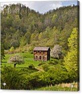Canaan Valley West Virginia Cabin Acrylic Print