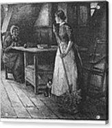 Canada: Daily Life, 1883 Acrylic Print