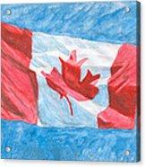Canada Day Acrylic Print