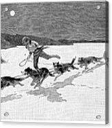 Canada: Fur Trade, 1892 Acrylic Print