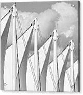 Canada Place Sails Acrylic Print