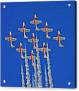 Canadian Air Force - Snowbirds Acrylic Print