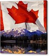 Canadian Mountains Acrylic Print