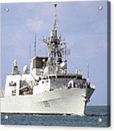 Canadian Navy Halifax-class Frigate Acrylic Print