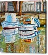 Canal De Martigues Acrylic Print