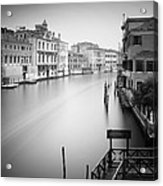 Canal Grande Study Iv Acrylic Print by Nina Papiorek