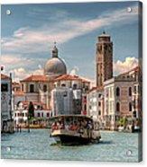 Canal Grande. Venezia Acrylic Print