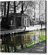 Canal Saint Martin Acrylic Print