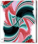 Candid Color 16 Acrylic Print