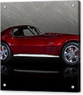 Candy Apple Corvette Acrylic Print