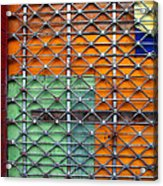 Candy Cage Acrylic Print