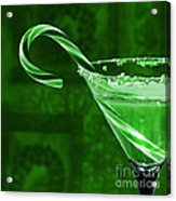 Candy Cane Cocktail  Acrylic Print