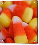 Candy Corn Acrylic Print