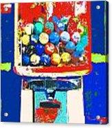 Candy Machine Pop Art Acrylic Print