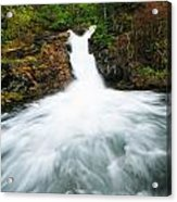 Canmore Falls Acrylic Print