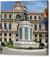 Cannes City Hall Acrylic Print