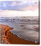 Cannon Beach Painting Acrylic Print