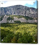Cannon Cliff From Boise Rock New Hampshire Acrylic Print