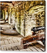 Cannons Of Dover Acrylic Print