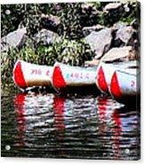 Canoe Rentals On The St Croix Acrylic Print
