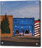 Canon City Facades - Posterized Acrylic Print
