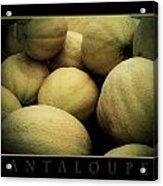 Cantaloupes Acrylic Print