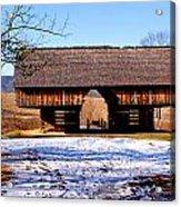 Cantilever Barn Acrylic Print