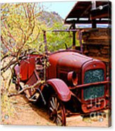 Canyon Creek Ranch Transportation Acrylic Print