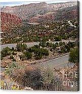 Canyon Switchback Acrylic Print