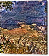 Canyon View II Acrylic Print