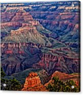 Canyon View X1 Acrylic Print