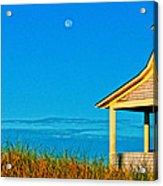 Cape Cod Bay House Acrylic Print