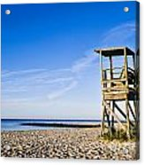 Cape Cod Lifeguard Stand Acrylic Print