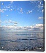 Cape Cod Summer Sky Acrylic Print