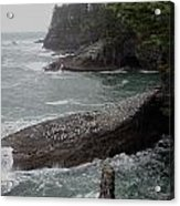 Cape Flattery Shoreline Acrylic Print
