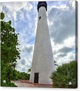 Cape Florida Light House 2 Acrylic Print