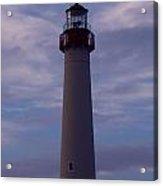 Cape May Lighthouse At Dusk  Acrylic Print