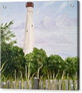 Cape May Lighthouse Acrylic Print
