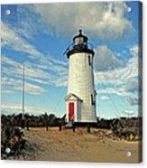 Cape Pogue Lighthouse Marthas Vineyard Acrylic Print